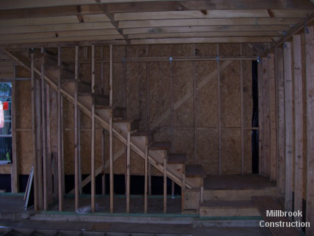 garage stairs framing